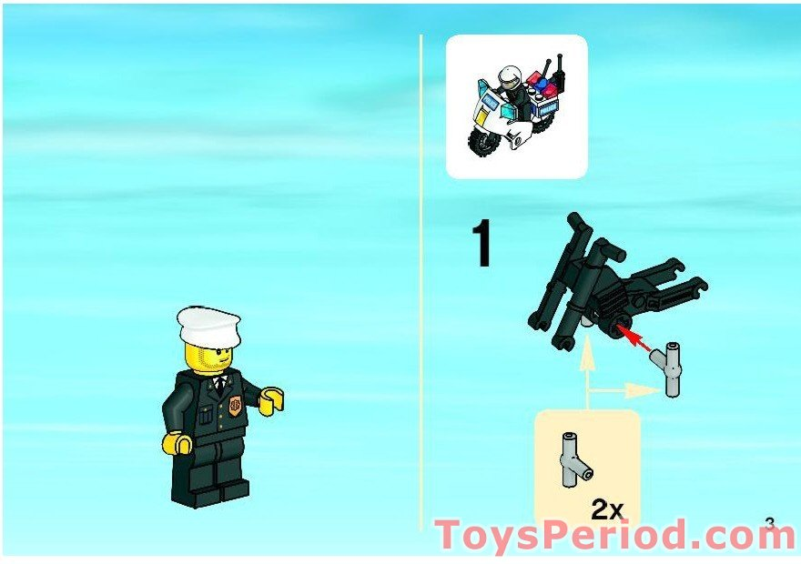 Lego 7744 Police Headquarters Set Parts Inventory And Instructions