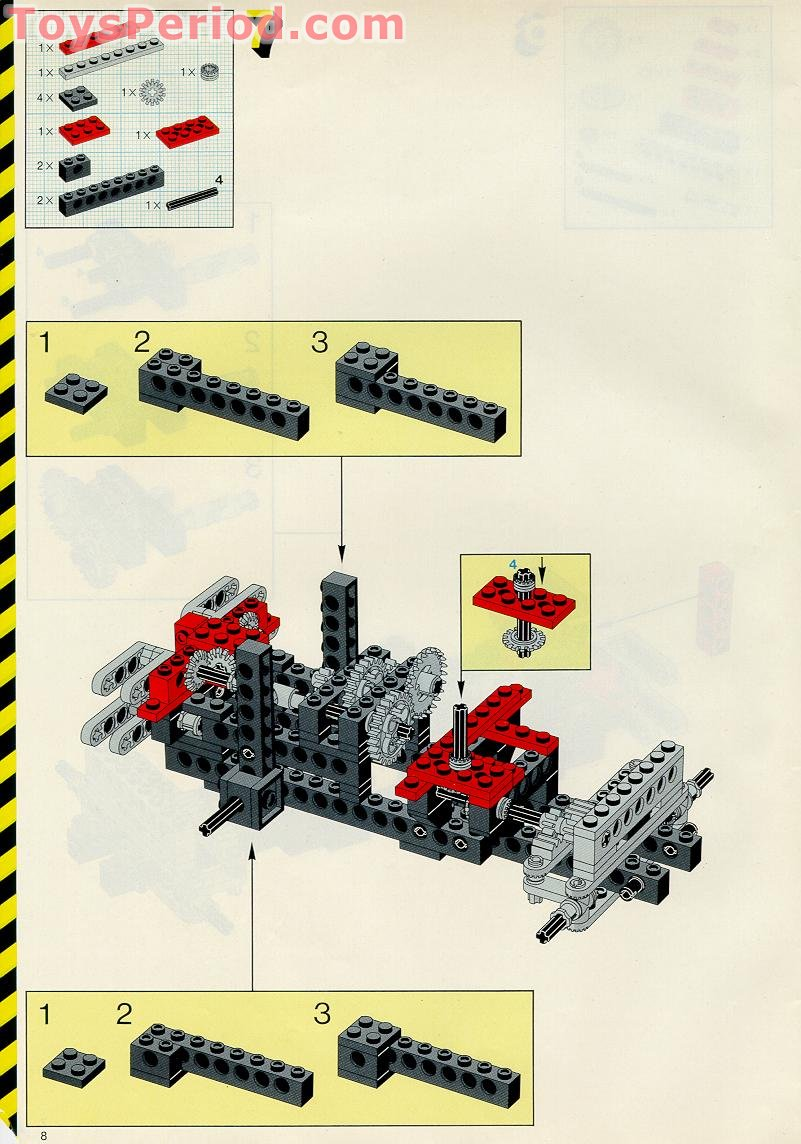 lego classic crane instructions
