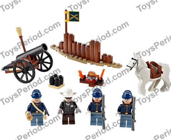 Minifig Utinsil Yellow The Lone Ranger Cavalry Flag LEGO