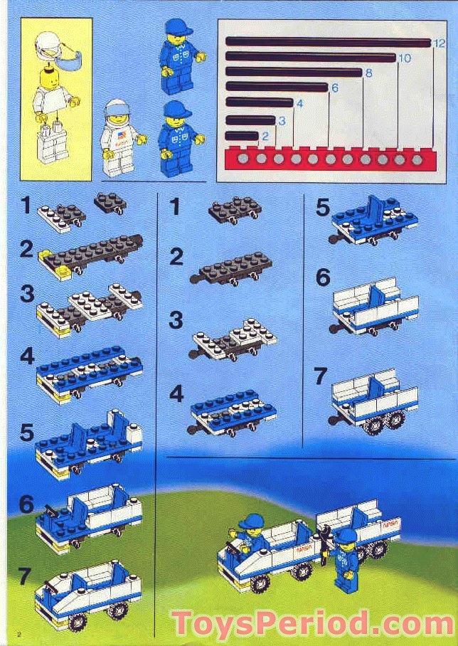 Lego 1682 Space Shuttle Set Parts Inventory And Instructions Lego