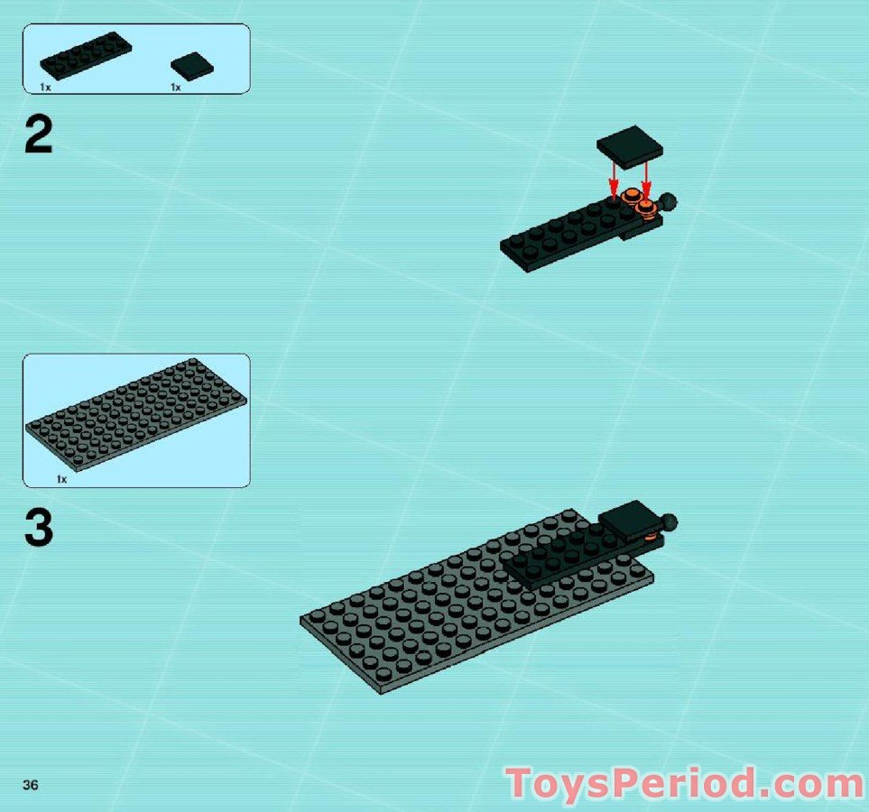Missing Lego Brick 32054 MdStone x 5 Technic Pin Long with Stop Bush