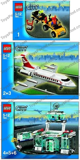 LEGO 7894-1 Airport Image 11