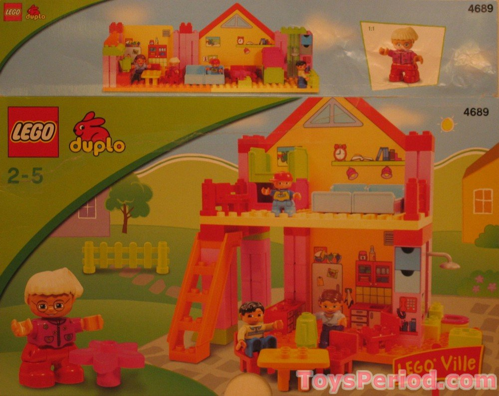 Lego 4689 Playhouse Set Parts Inventory And Instructions