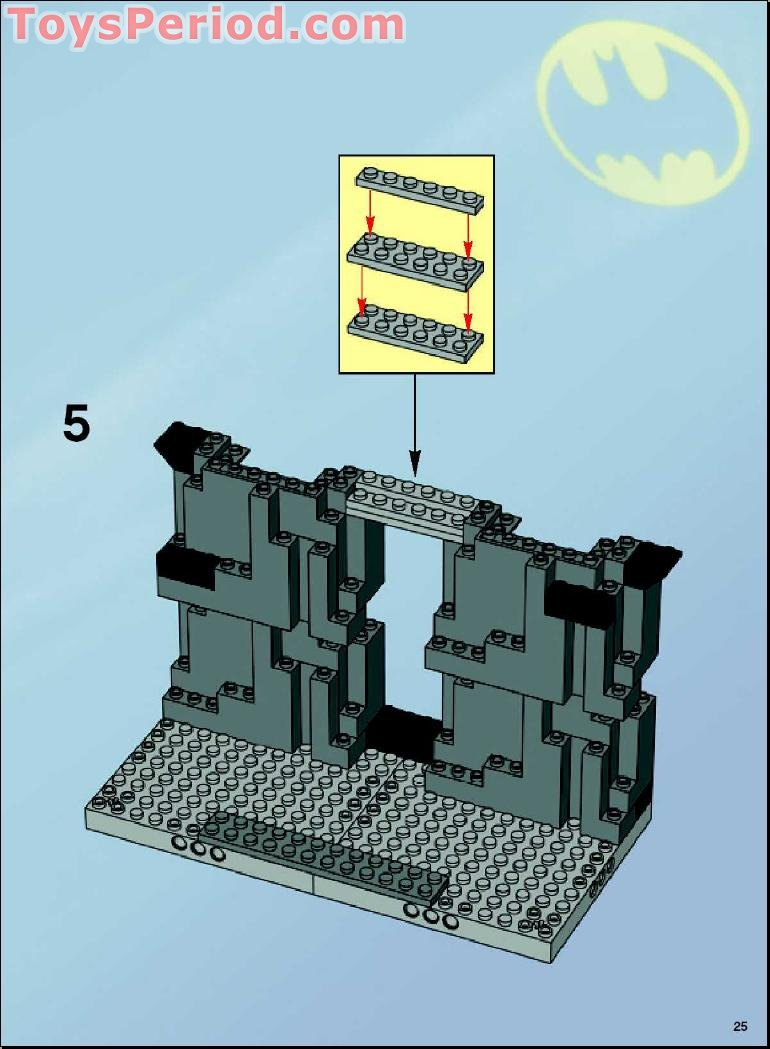 LEGO 7783 The Batcave: The Penguin and Mr. Freeze's ...