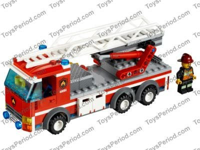 Lego 60004 Fire Station Set Parts Inventory And Instructions Lego