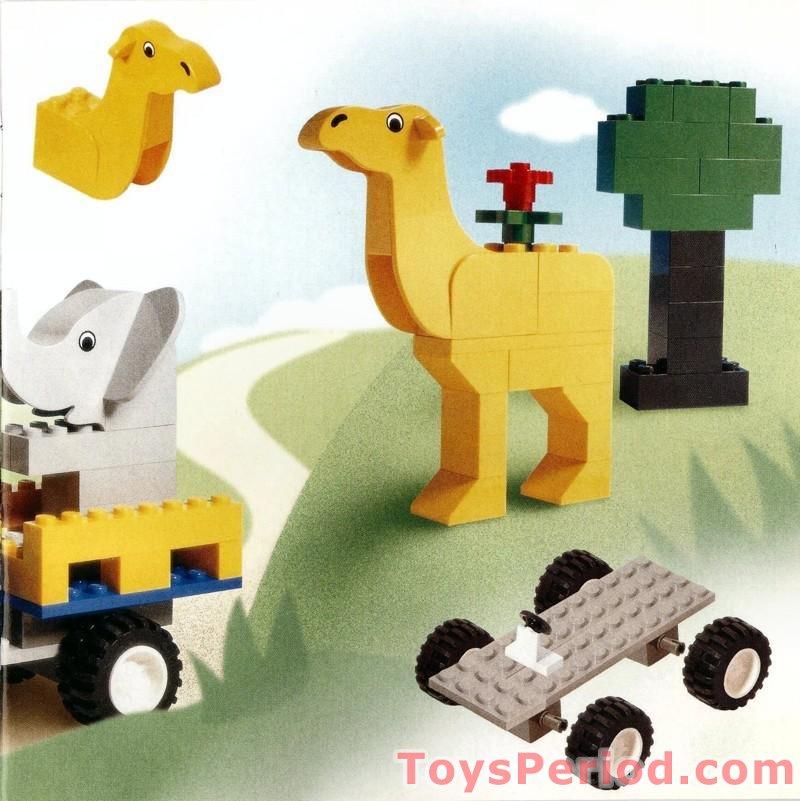 Lego 4116 Animal Adventures Bucket Set Parts Inventory And