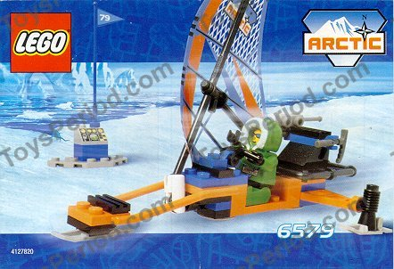 Lego 6579 Ice Surfer Set Parts Inventory And Instructions Lego