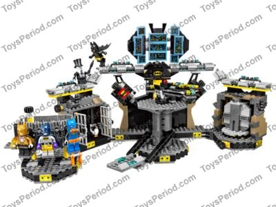 LEGO 70909 Batcave Break-In Set Parts Inventory and Instructions ...