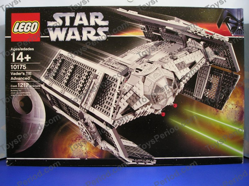 Lego 10175 vader 39 s tie advanced classic star wars ucs for Modele maison lego classic