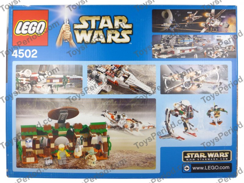 Review] 4502 X-Wing (Dagobah Version) - LEGO Star Wars ...