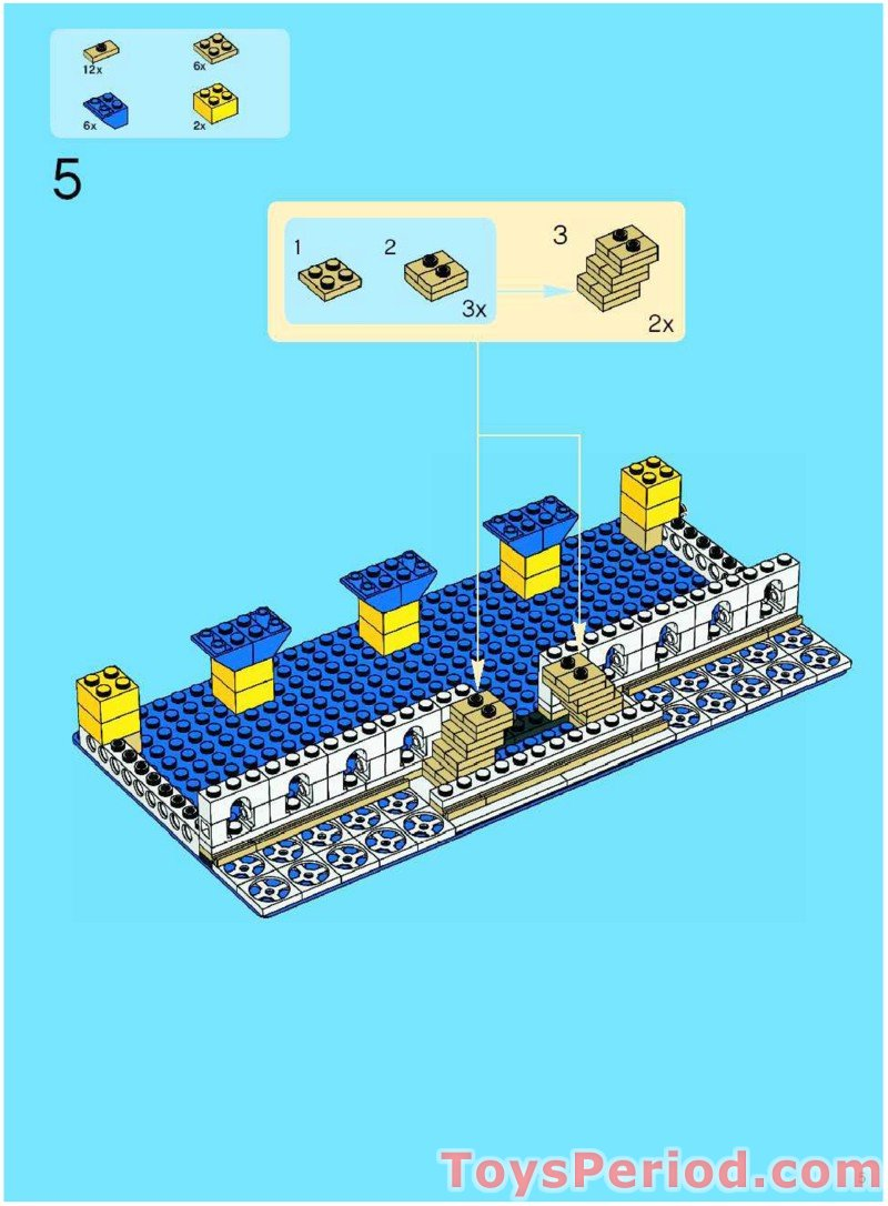 Taj Mahal Lego Building Instructions