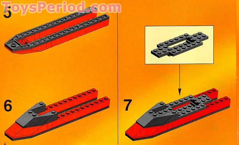 LEGO 6580 Land Jet 7 Set Parts Inventory and Instructions ...