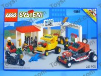 Town Theme Sets Lego 6561 Hot Rod Club Vintage 1994 Racing Garage