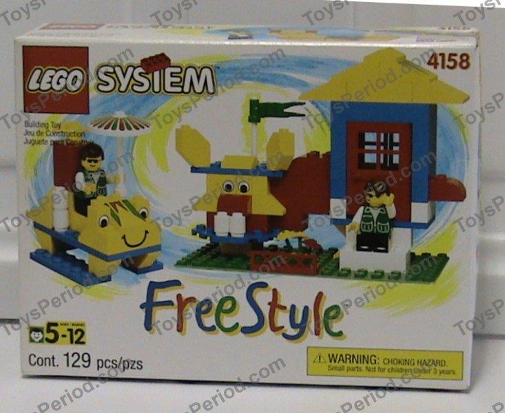 Lego 4158 small freestyle building set 5 plus set parts - Plus belle construction lego ...