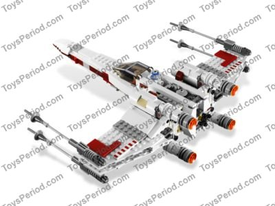 LEGO 9493 X-wing Starfighter Set Parts Inventory and Instructions - LEGO Reference Guide