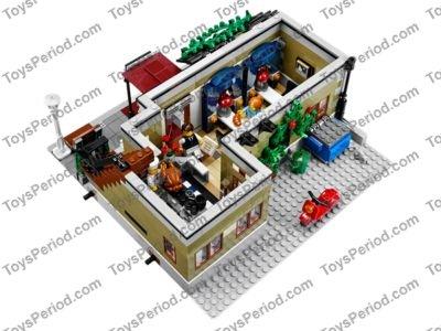 Lego 10243 Parisian Restaurant Set Parts Inventory And Instructions