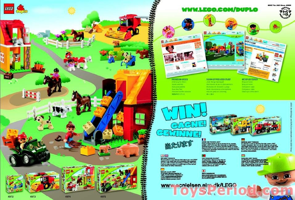 Lego 4974 Horse Stables Set Parts Inventory And