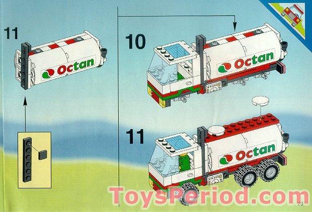 lego octan gas truck instructions