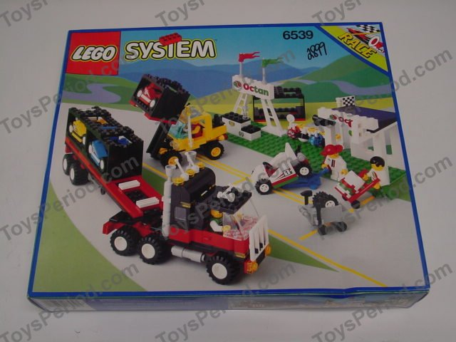 Lego 6539 Victory Cup Racers Set Parts Inventory And Instructions