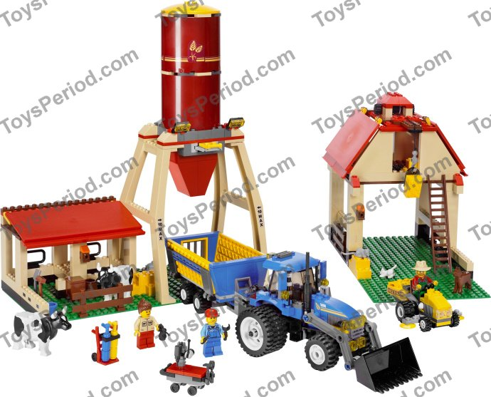 Lego 7637 Farm Set Parts Inventory And Instructions Lego Reference
