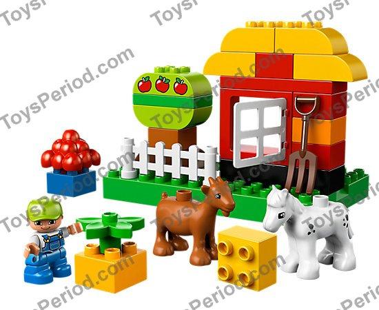 1 lime green Lego Duplo Baseplate 6 X 12 Flat