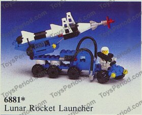 lego space rocket instructions