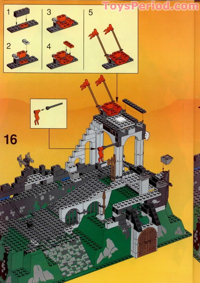Lego 6090 Royal Knight S Castle Set Parts Inventory And