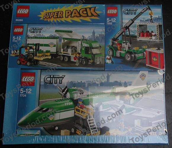 lego 66260 city super pack set parts inventory and instructions lego reference guide. Black Bedroom Furniture Sets. Home Design Ideas