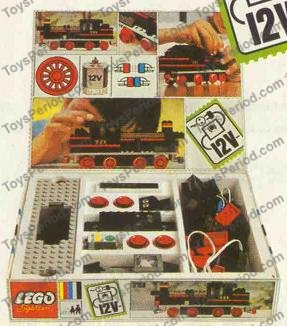 Lego 721 Steam Locomotive Set Parts Inventory And Instructions