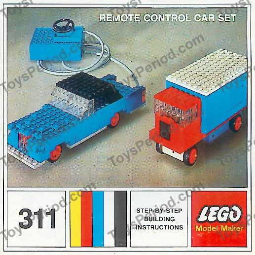 LEGO 311-5 Remote Control Car Set Image 1