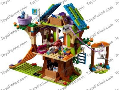 Lego 41335 Mias Tree House Set Parts Inventory And Instructions