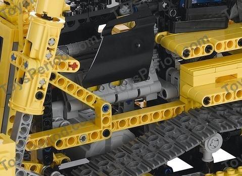 LEGO 8275 Motorized Bulldozer Set Parts Inventory and Instructions ...