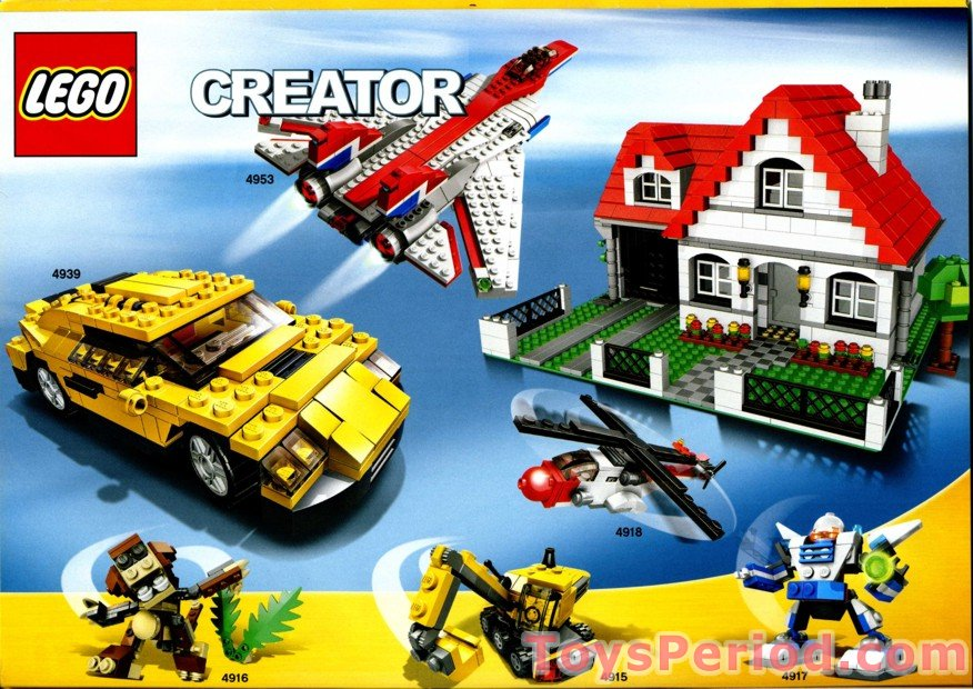 Lego 4956 House Set Parts Inventory And Instructions Lego