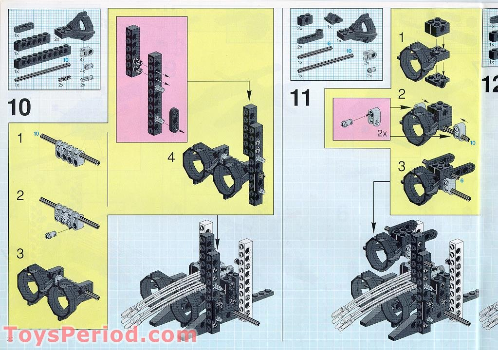 lego space shuttle parts list - photo #36