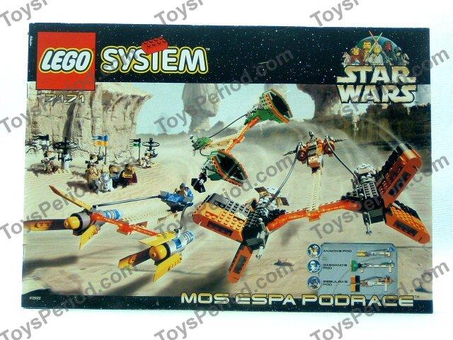 Lego 7171 Star Wars MOS ESPA PODRACE Complete w//Instructions