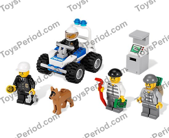 Lego 7279 Police Minifigure Collection Set Parts Inventory And