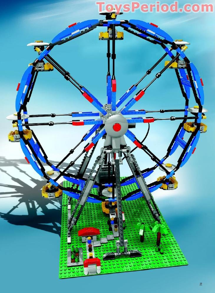 Image Result For Lego Ferris Wheel Building Instructions