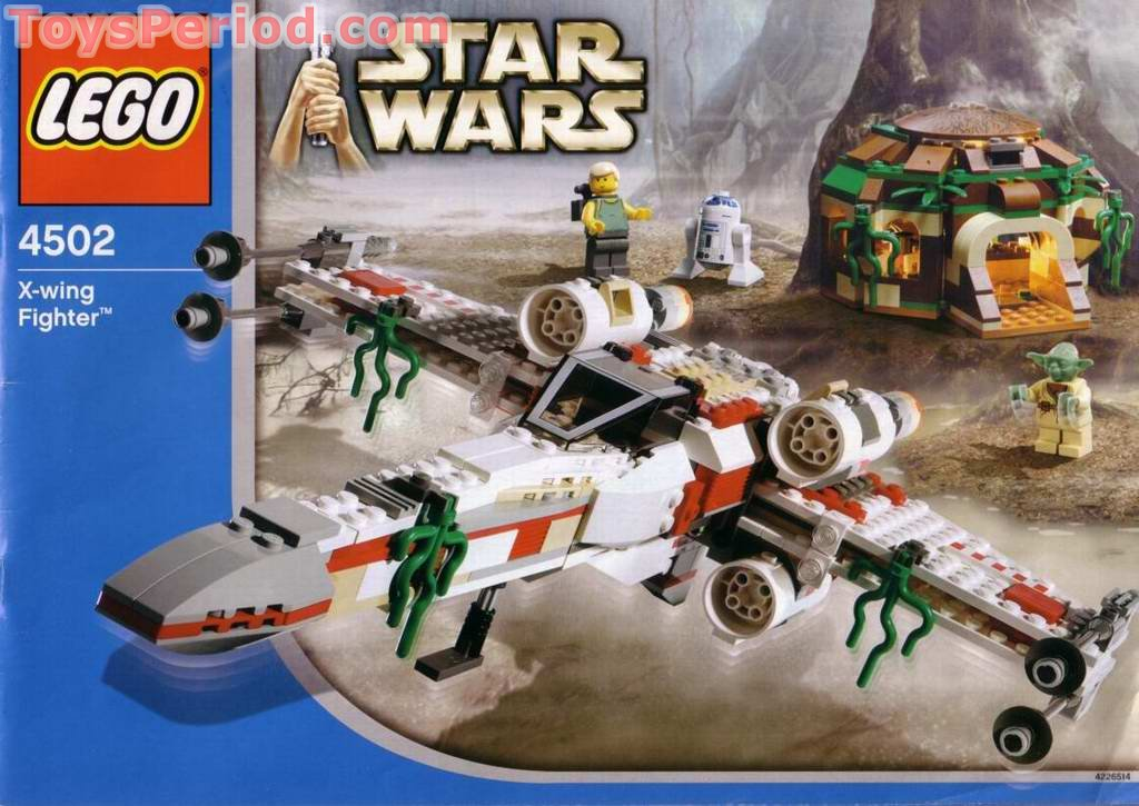 Lego 4502 1 x wing fighter dagobah blue box set parts - Lego star wars 1 2 3 4 5 6 ...