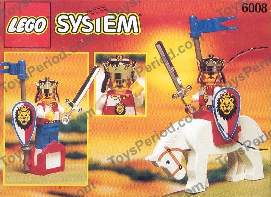 Lego 6008 Royal King Set Parts Inventory And Instructions Lego