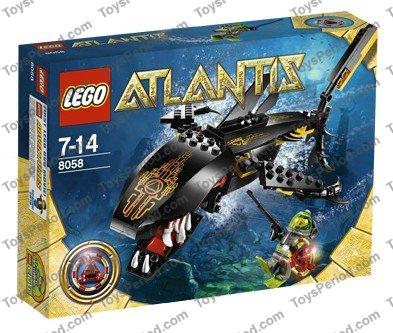 lego atlantis shark instructions
