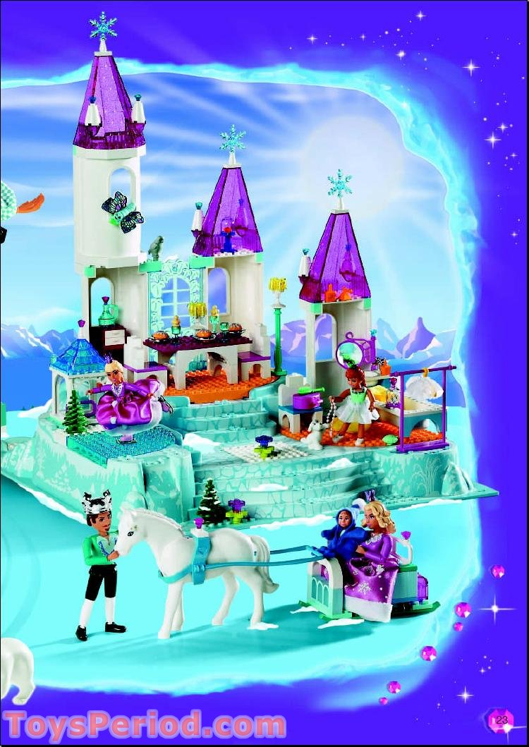 lego crystal king instructions