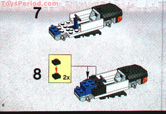 lego police car building instructions