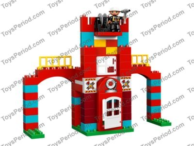 Lego 10593 Fire Station Set Parts Inventory And Instructions Lego