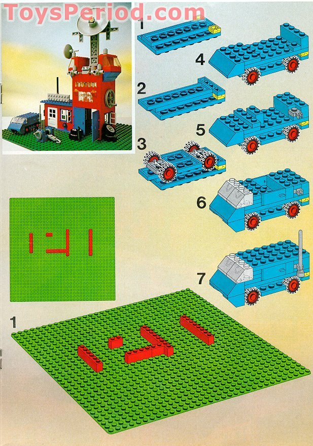 Lego 733 Universal Building Set Set Parts Inventory And Instructions