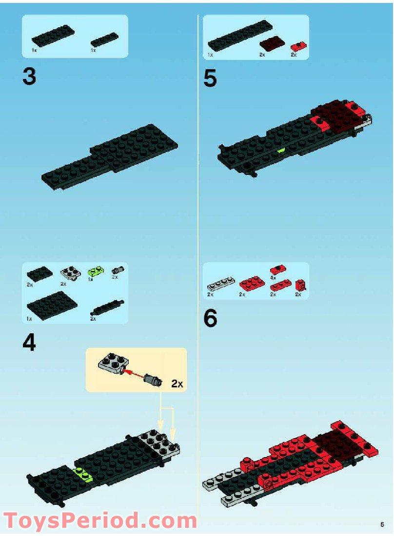 Lego 10200 Custom Car Garage Set Parts Inventory And