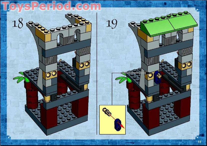 Free Building Instruction Scan Download For LEGO