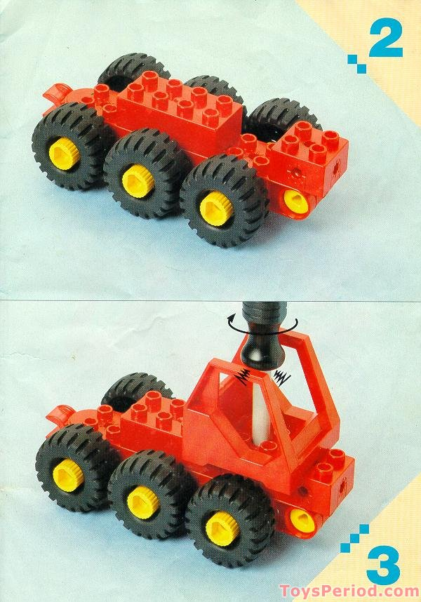 Lego 2940 Fire Truck Set Parts Inventory And Instructions Lego