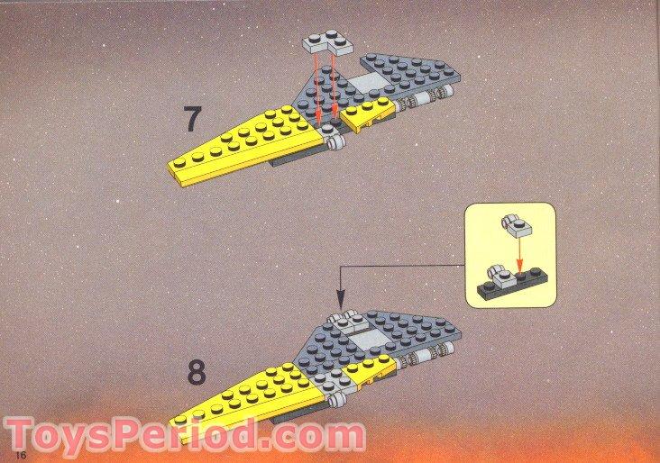 Lego Anakin Skywalker Jedi Starfighter Instructions
