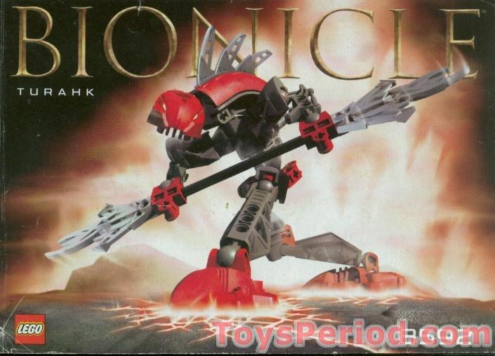 All 6 Lego Bionicle RAHKSHI w// rare PURPLE SHADOW KRAATA Manual 8587 ~ 8592