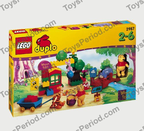 website voor korting nieuw aangekomen anders LEGO 2987 Fun in the 100 Acre Wood Set Parts Inventory and ...